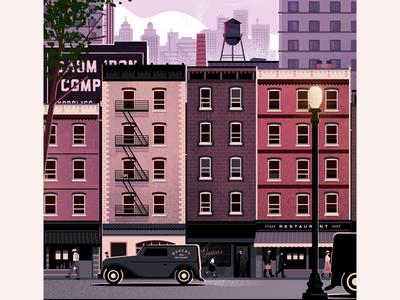 Vintage City Street Style Exploration