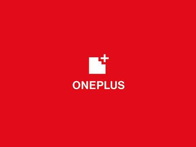 OnePlus Logo Redesign oneplus logo design graphic design red minimal redesign rebranding icon branding design logo