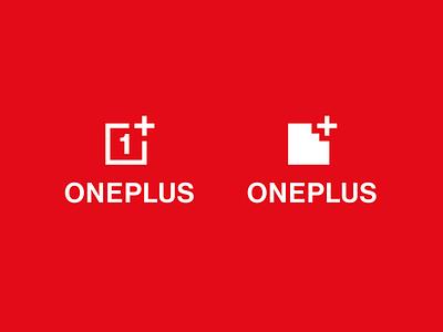 Logo Redesign - OnePlus red rebranding oneplus minimal logo design logo icon graphic design design branding