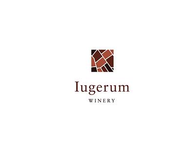 Iugerum Winery winelabel label wine red packaging logo design graphic design logo design branding