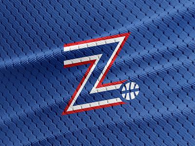 Zadar Basketball Logo jersey lettering letter z z z logo sports logo croatia zadar basketball logo basketball minimal logo design graphic design logo design
