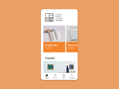 Library App - UX/UI interface user experience bookshelf books library mobile app uxui ux graphic design branding logo ui