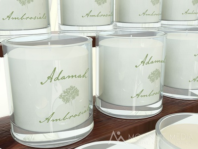 Adamah Ambrosials Logo graphic design typography illustration logomark logo design logo