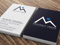 Moonlit Media Business Cards