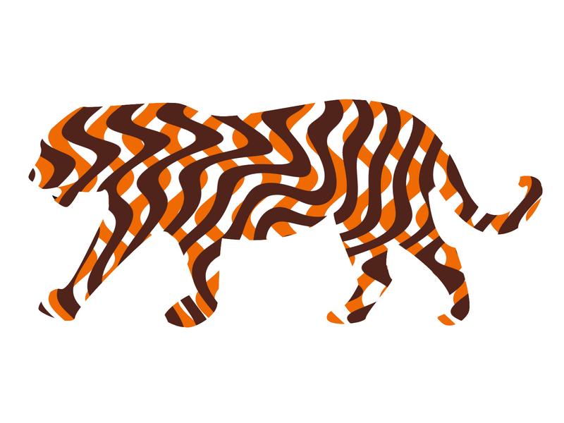 tiger creation illustration design