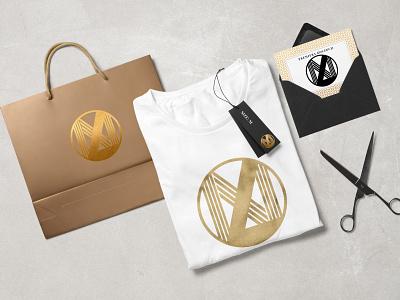 LaNoche Butique Logotype fashion brand fashion logotypedesign logotype logo