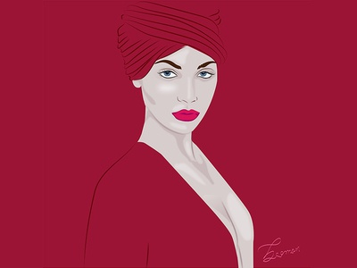 portrait draw illustrator vector vector illustration vectorart portrait illustration illustration