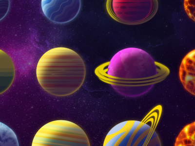 All the planets!