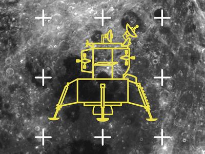 Astrobot Shirt Design - Lunar Lander