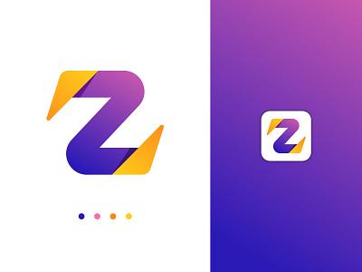 Z letter abstract logo mark logo abstract logo visual identity letter logo design abstract design logo design letter logo
