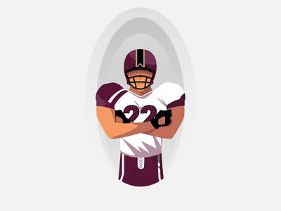 🏈 sport logo football ui sports design avatar vector illustration figma design figma