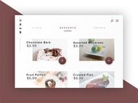 Daily UI 43 - Food/Drink Menu
