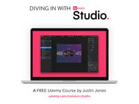 InVision Studio Udemy Course