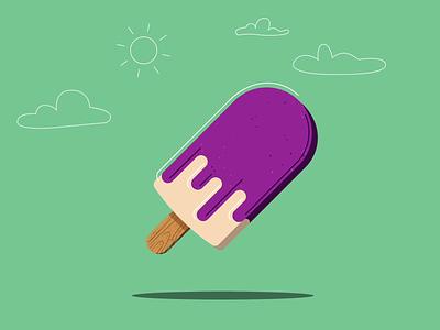 Popsicle animation 2d ice cream summer summertime popsicle motion graphics motion design animation illustration