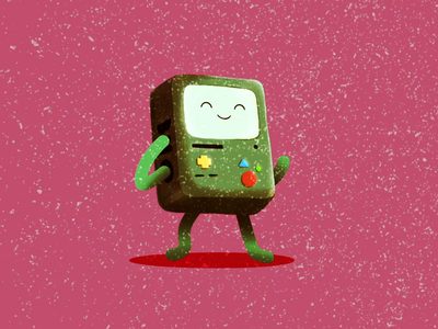 Beemo animation after effects animation 2d loop character animation illustration