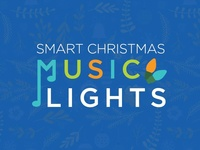Smart Christmas Music Lights Logo