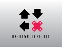 UpDownLeftDie Logo