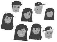 Character Head Development