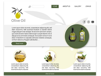 site web olive oil