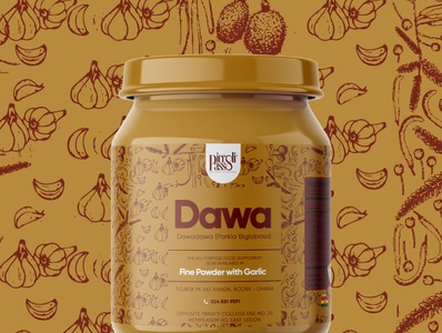 Picolli Passo Dawa Mix ghana packagingpro packagedesign mockup branding