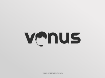 Logo Design | Venus Enterprises illustration design branding logo