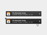 Grooveshark Notification Hover State
