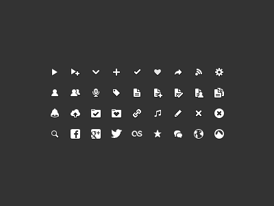 More Icons! grooveshark icons 16x16