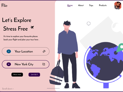 Travel Agency-   UI /   UX dribbble best shot dribble protopie mobileapp ux adobexd web website frontend ui figma design