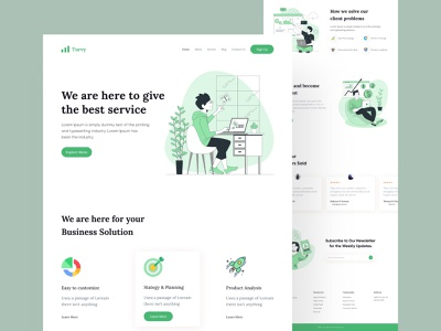 Creative agency Landing Page-UX/UI Design dashboard product design agency website web graphic design typography project redesign minimal illustration landing page marketing design website ui uidesign illustratiuon homepage webdesign interface landing page