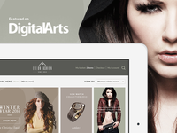 Fashion App Tutorial featured on Digital Arts Online