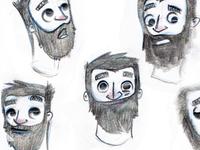 Monoton Character Sketches