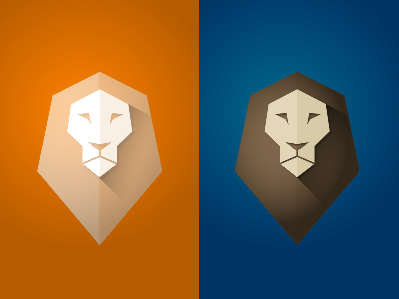 Lion Logo For A New Project By Akos Bozor