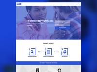 Treatment finder web app design