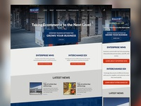 Responsive Web design for a Warehouse Management System