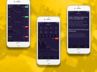 Stock App Concept design