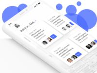 Events App Listing exploration