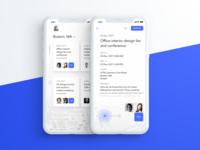 Events app UI experiment