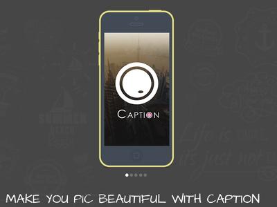 Caption website