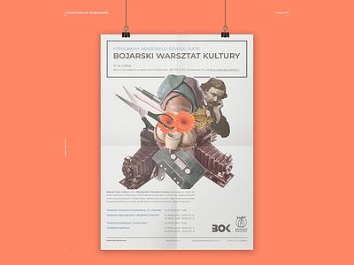 BDK: Bojarski Warsztat Kultury Poster collage poster