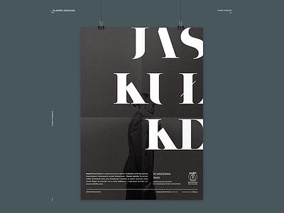 BDK: Sławek Jaskułke Poster typography poster concert