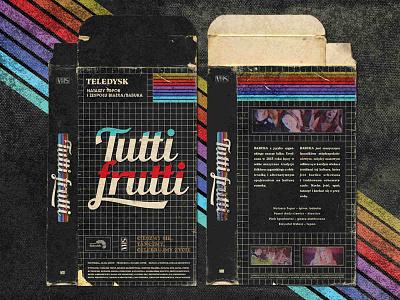 'Tutti Frutti' VHX Box 90s retro vintage old rainbow vhs