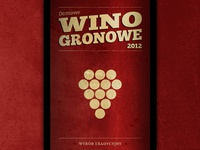 Home Wine Label for 2012