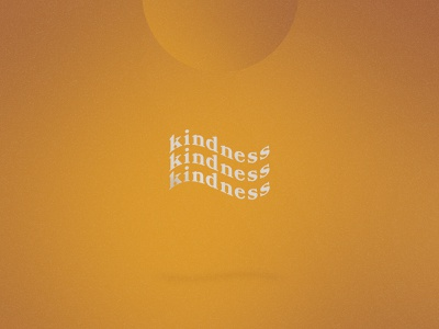Kindness kindness illustraion design simple simpledesign photoshop graphicdesign illustrator