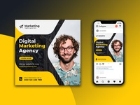 Social Media Post Template business digital marketing agency instagram post social media post social media templates social media banner social media design socail media