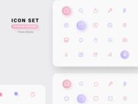Icon Set Premium Package vector webdesign typography design figmadesign figma premium iconset icon