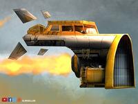 Dribble Space Truck Olimueller
