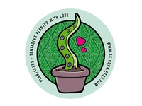 Plantacles - Planted Tentacles Sticker