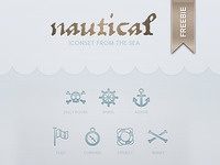 FREEBIE: nautical iconset