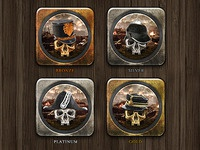 "Rawalry Iconset ""General On Many Fronts"""