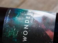 Wonderwall / Pinot Wine Label